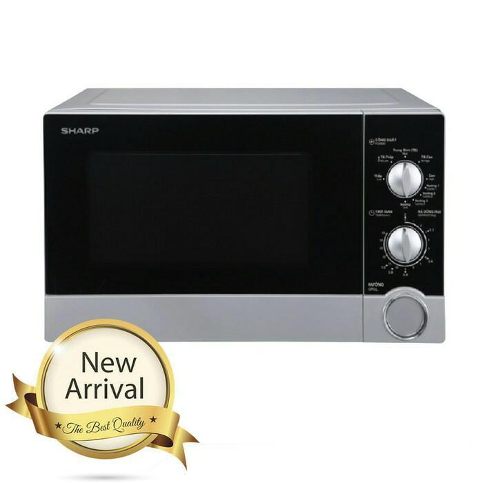 Sharp Straight Microwave Oven 23Liter Low Watt 450W R-21DO(S)-IN R21DO