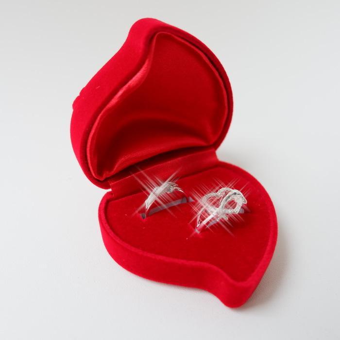 Tempat Cincin Couple Untuk Lamaran SangJit Perhiasan Pernikahan Hadiah - PbKVjt