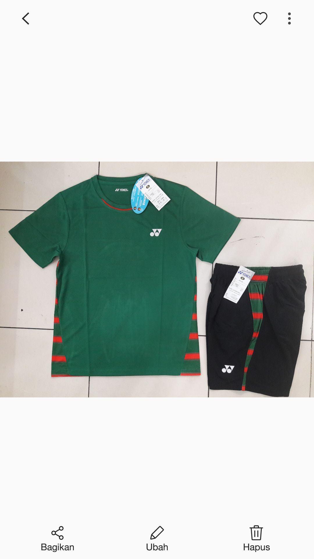Setelan Baju Badminton Terbaru