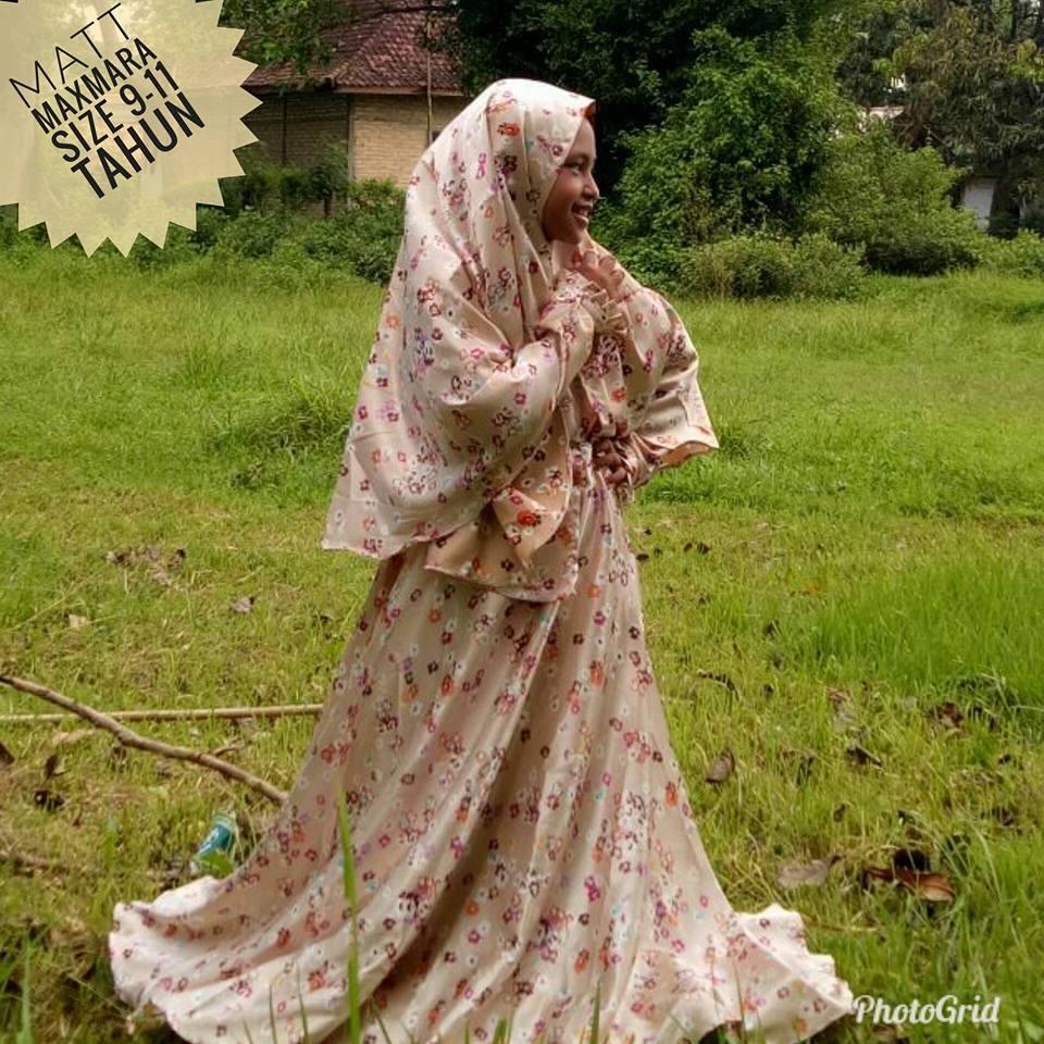 gamis/baju muslim anak perempuan size 10-12tahun tahun/gamis premium motif/gamis anak klok 4m/gamis anak terbaru By Nurulcollection