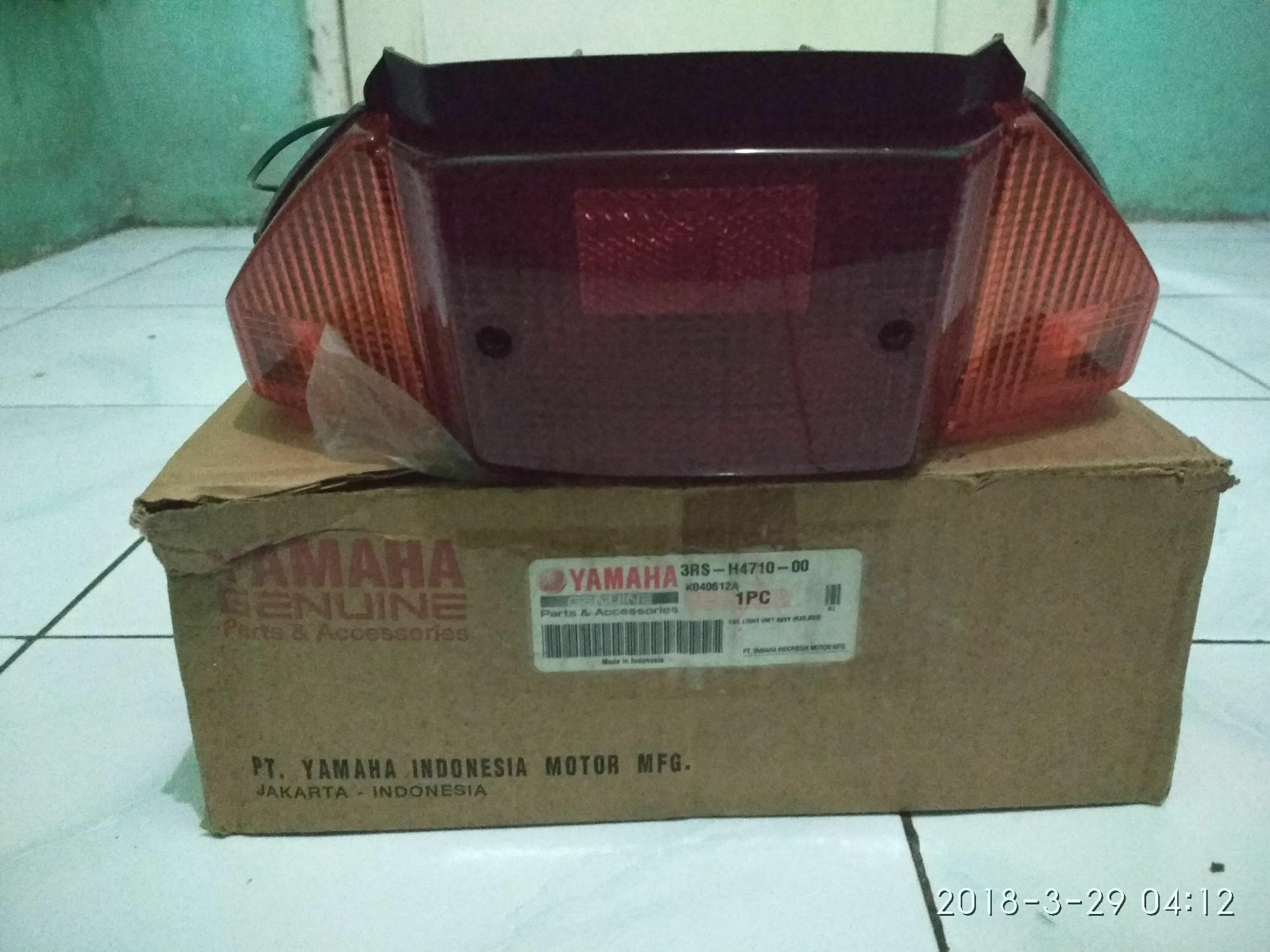 Tail light assy lampu belakang Rxz Rzr Rx-z