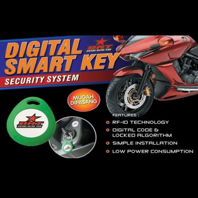 Alarm Motor Kawasaki Ninja 250 Fi Injection I-Max Digital Smart Key Stok Terbatas