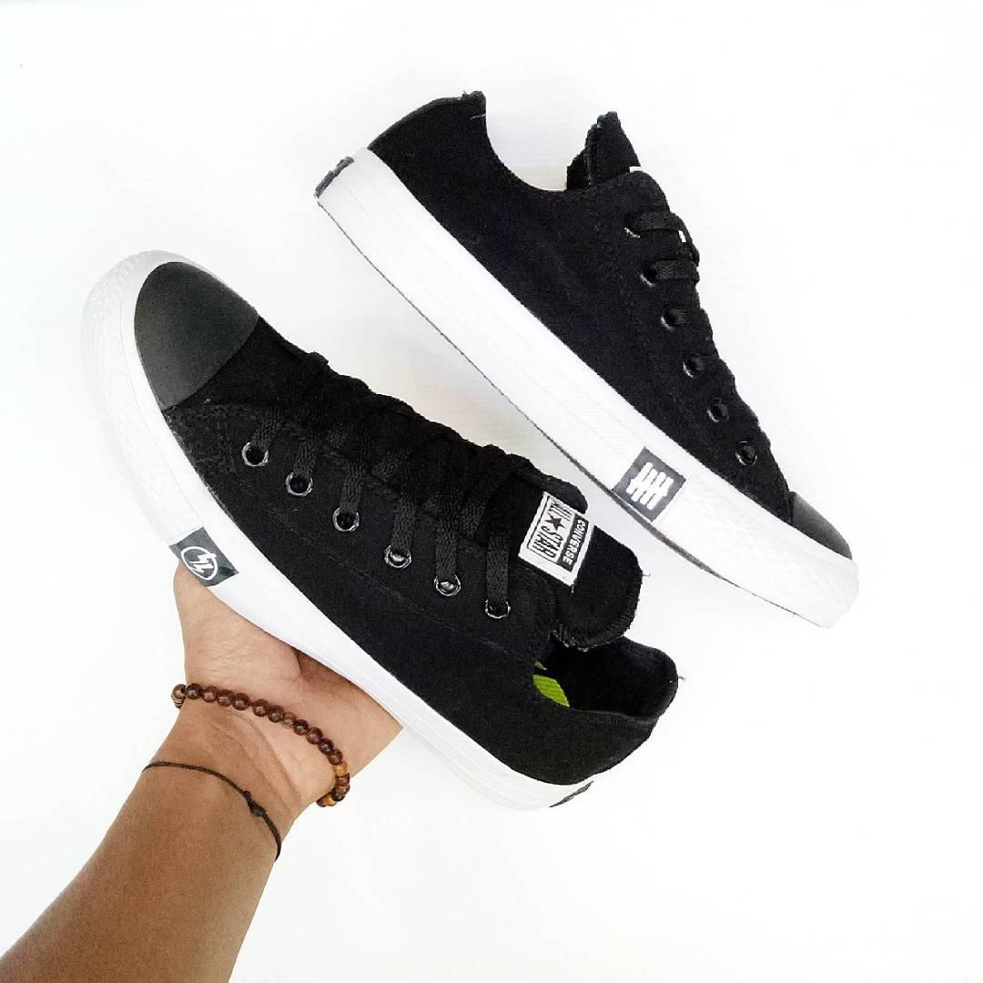 sepatu sneakers converse all star ct splash unisex-hitam