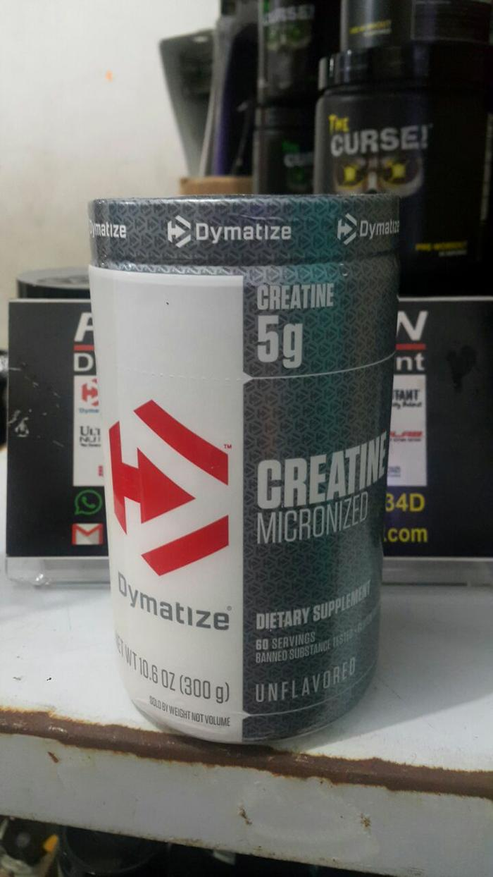 CREATINE MICRONIZED Unflavored [300gram] Dymatize - u8i5Kh