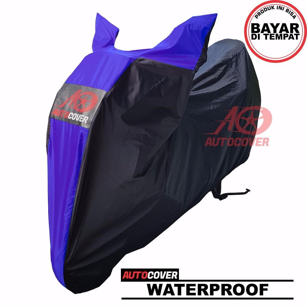 Fitur Cod Sarung Motor Yamaha Nmax Blue Waterproof Cover Body Anti Kaos N Max Lengan Panjang Air Selimut Penutup Bodi Pelindung