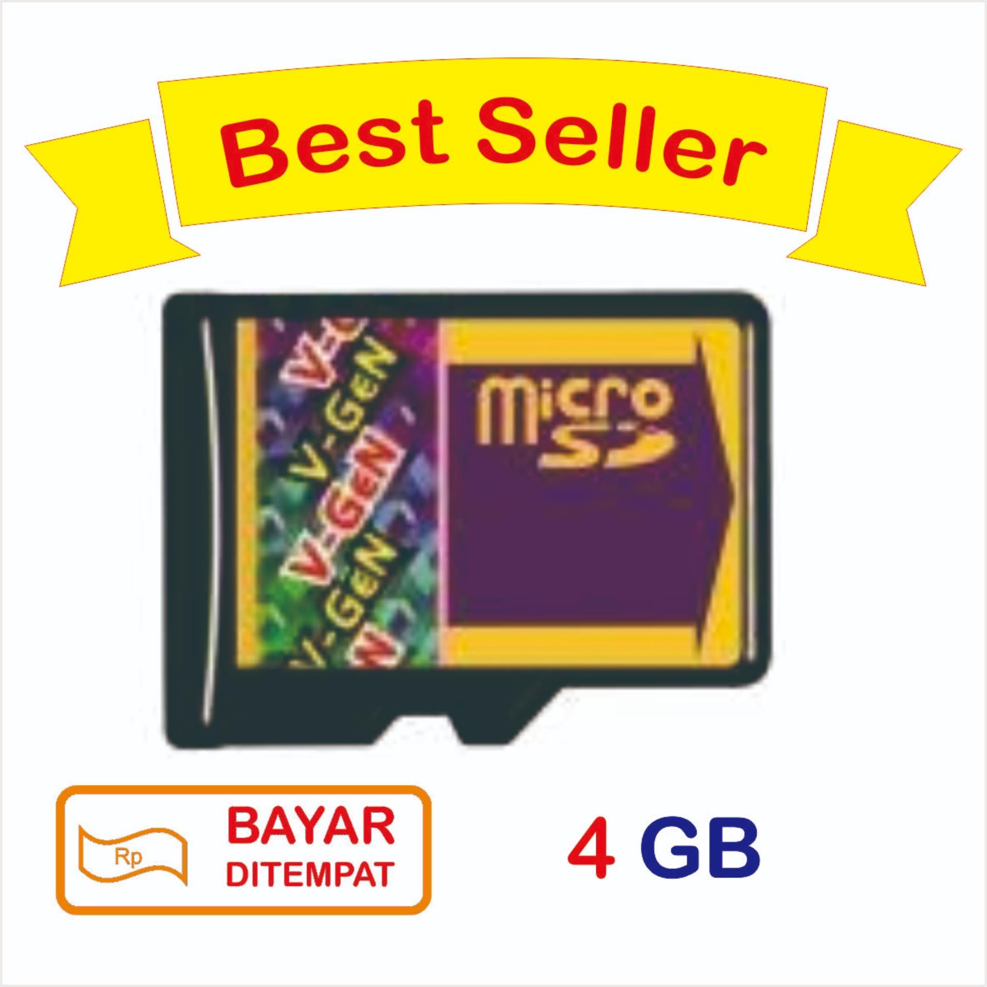 Jual Produk V Gen Asli Terbaik Terlaris Sdhc Card 4gb Micro Sd 4 Gb Class 6
