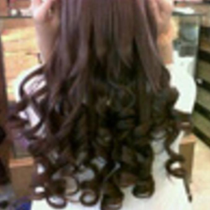 HAIR CLIP CURLY SOSIS / HAIRCLIP KERITING GANTUNG - COSME18