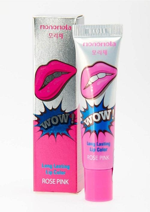Monomola Lip Tato/ Lip Tattoo Korea -Rose Pink