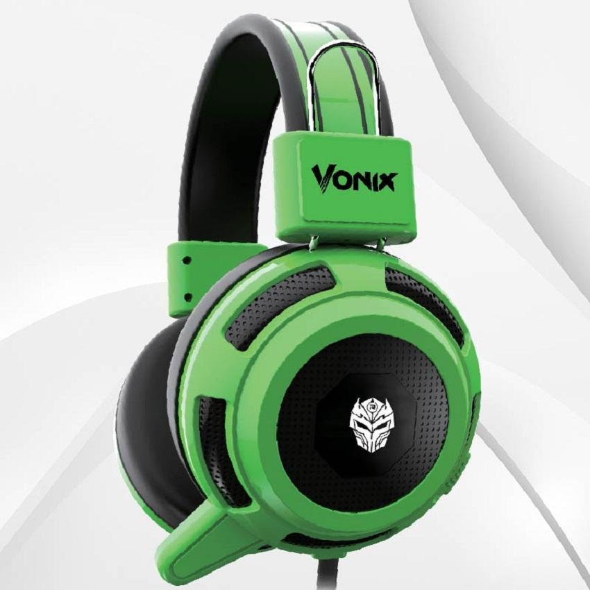 Headset Gaming REXUS F26 Hijau