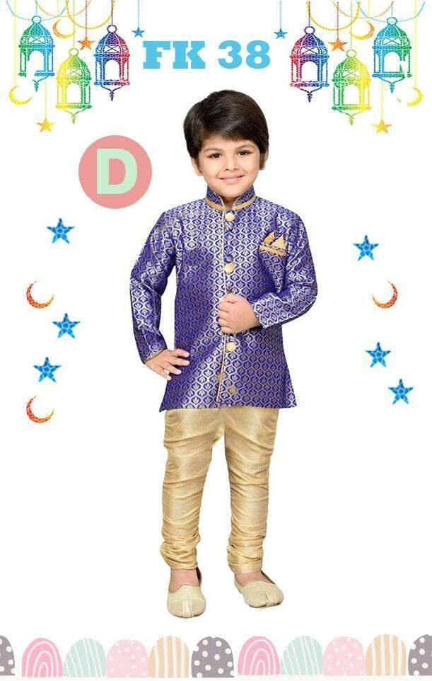 Baju Koko Anak Kecil India Pakistan Lebaran Import Ungu