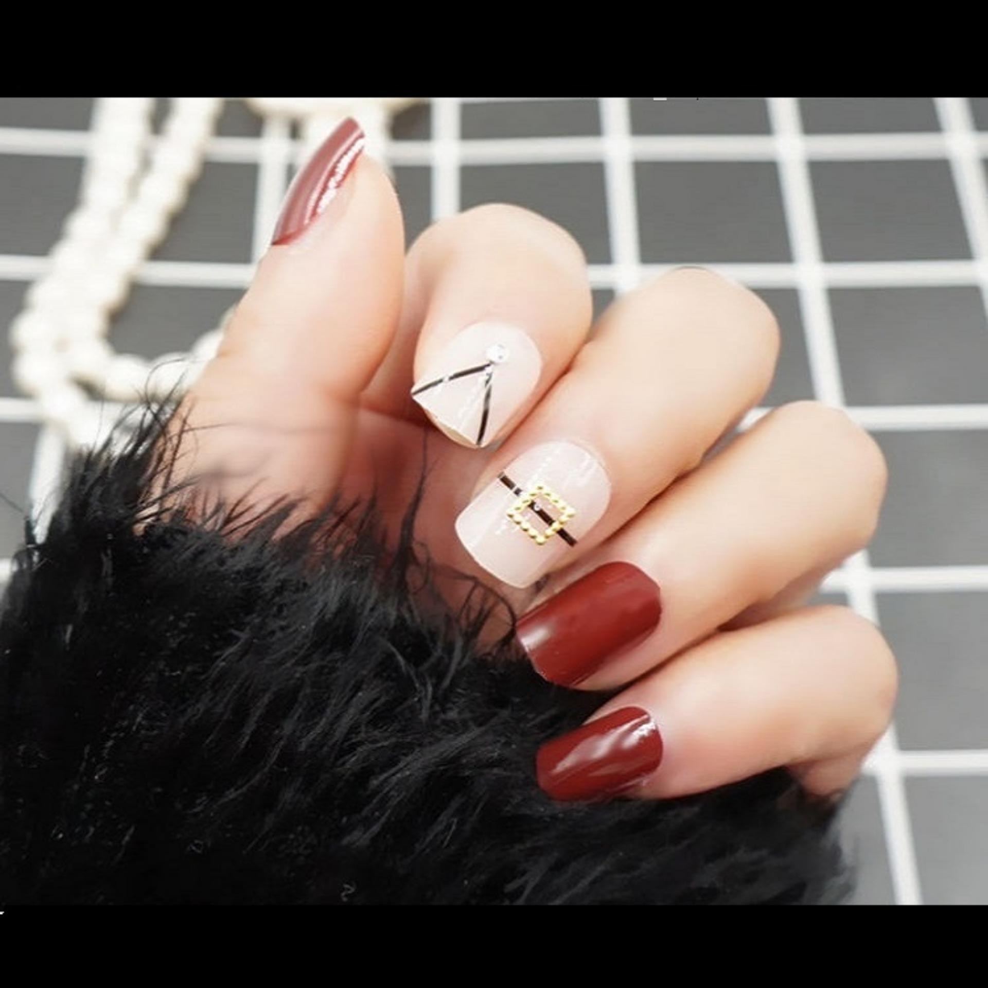 Fitur Jbs Nails Kuku Palsu Pengantin 3d A65 Dan Harga Terbaru Wedding Fake Nail Art Simple A13 Warna A26
