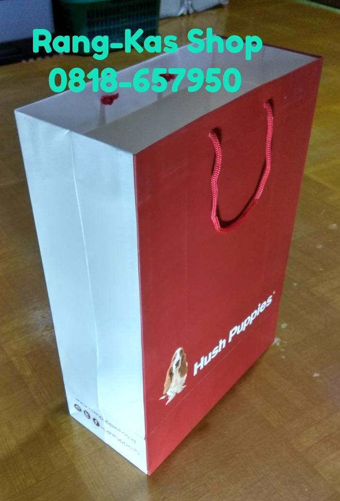 Paperbag HUSH PUPPIES XL Karton Doff