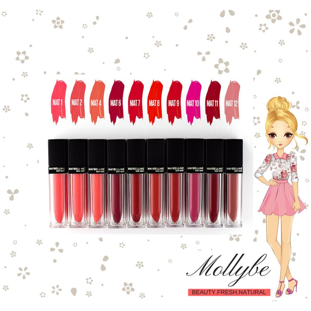 Buy Sell Cheapest Maybelline Sensational Vivid Best Quality Color Matte Lipstick Liquid