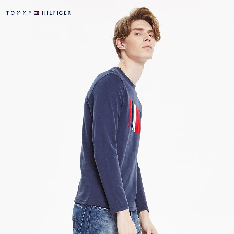 fdc27b12 Tommy JEANS Men And Women Celebrity Style Spring Summer Male/Women's CLASSIC  Pure Cotton Leisure