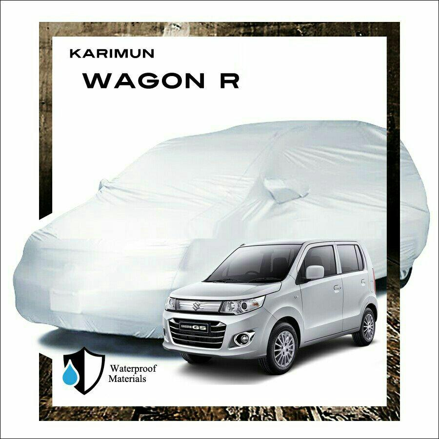 PROMO Fit On Body Cover tutup sarung Mobil Karimun wagon R, bagus