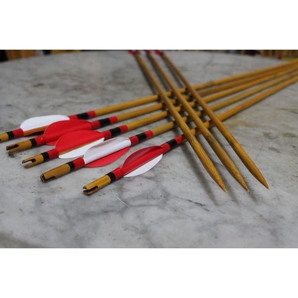 Menjual Arrow Bambu Petung / Anak Panah Bambu Archery - Arcer