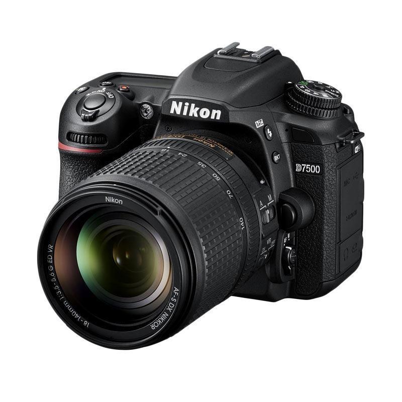 Nikon D7500 KIT AF-S DX 18-140mm f/3.5-5.6G ED VR kamera DSLR