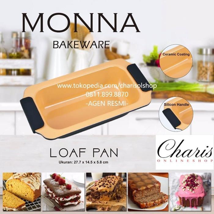 Signora Monna Bakeware - Loaf Pan Loyang Kue Bolu- Roti - Cjaw9a