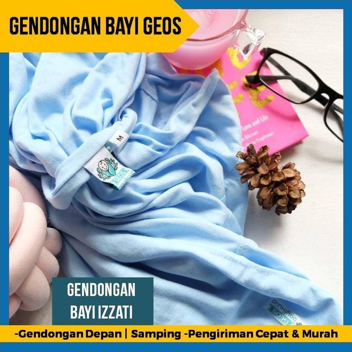 Gendongan Baby Wrap 2 in 1 Size M - Instan Baby Wrap Bayiku