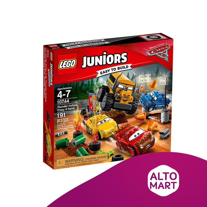 LEGO Juniors 10744 Thunder Hollow Crazy 8 Race Cars 3 -