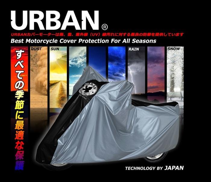 URBAN Sarung Cover Motor Urban Big Jumbo Size Anti Air & UV Ninja NMax CBR