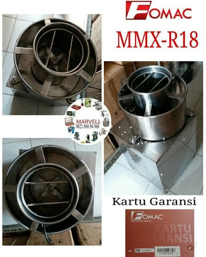 Fomac meat mixer MMX-R18 mesin pengaduk adonan daging bakso