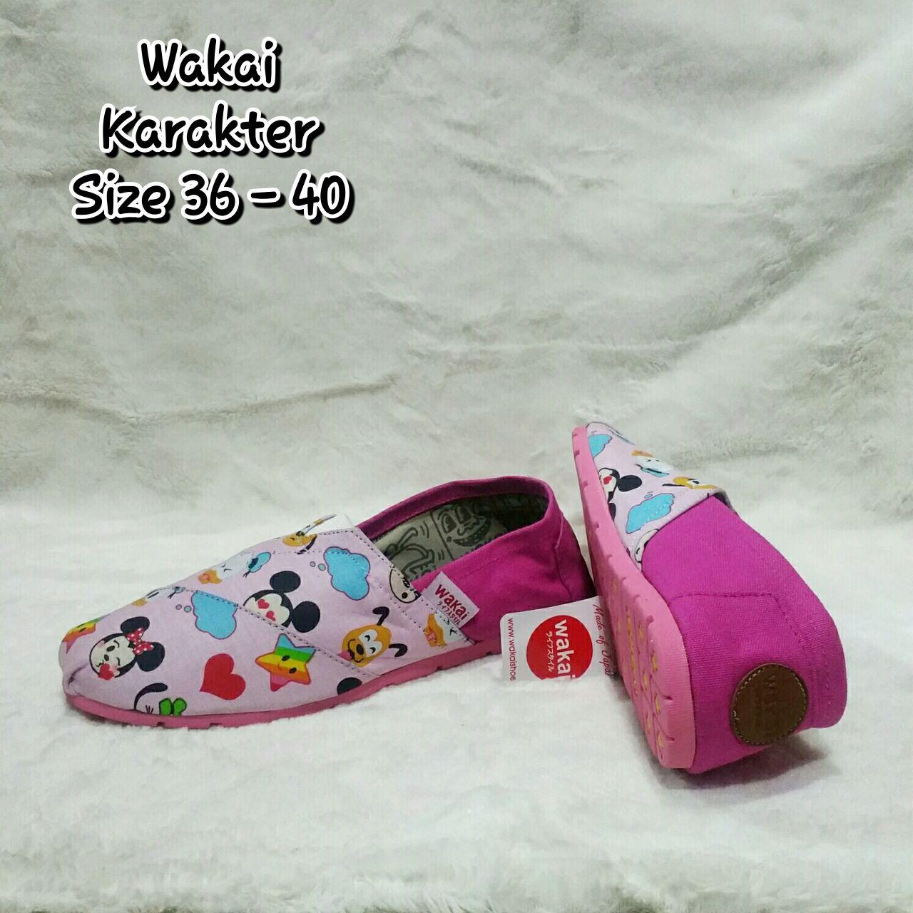 Wakai Mickey Pink uk36-40
