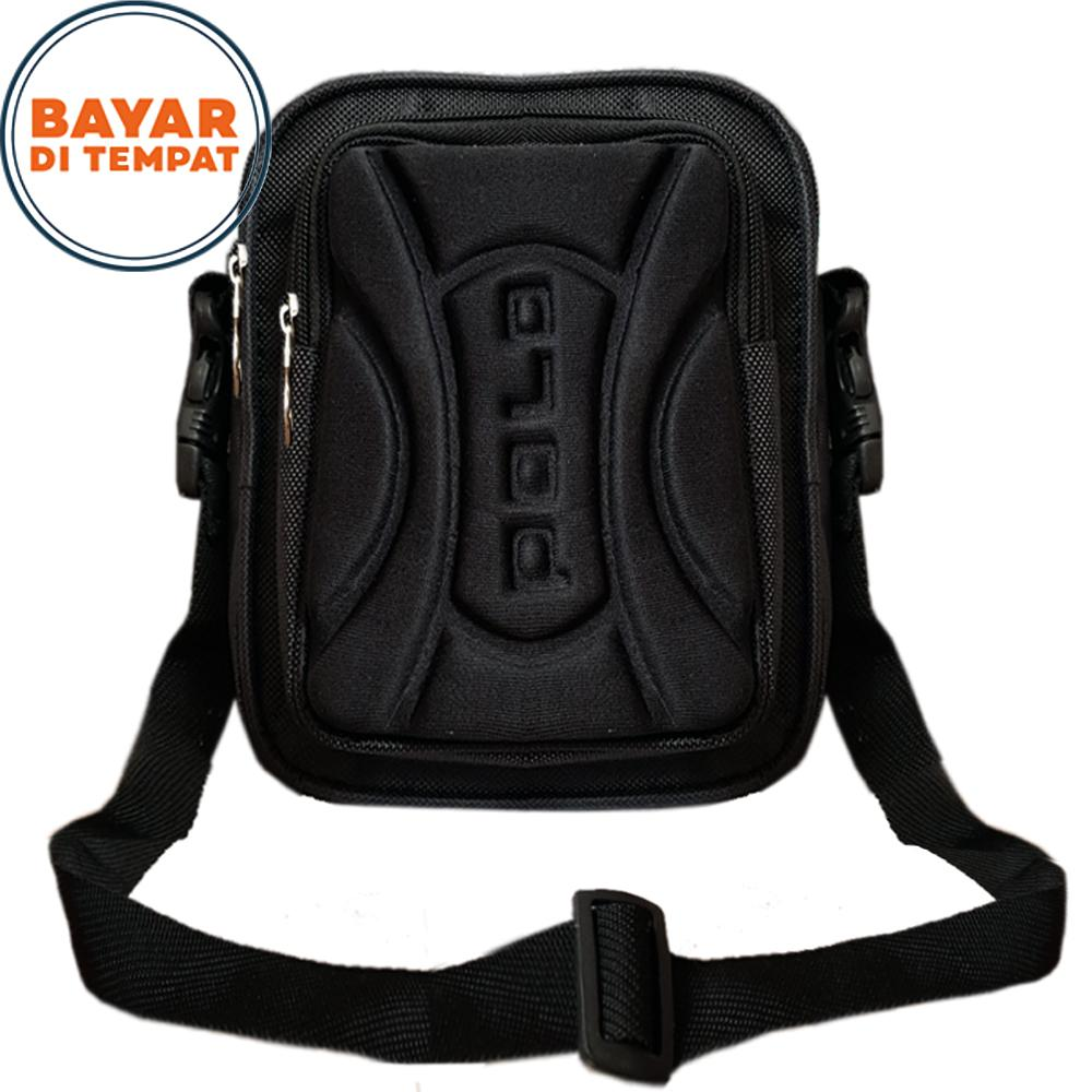 Buy Sell Cheapest Tas Hp Pria Best Quality Product Deals Waistbag Waterproof Selempang Vape Polo P0021 6 Embos Depan Gadget