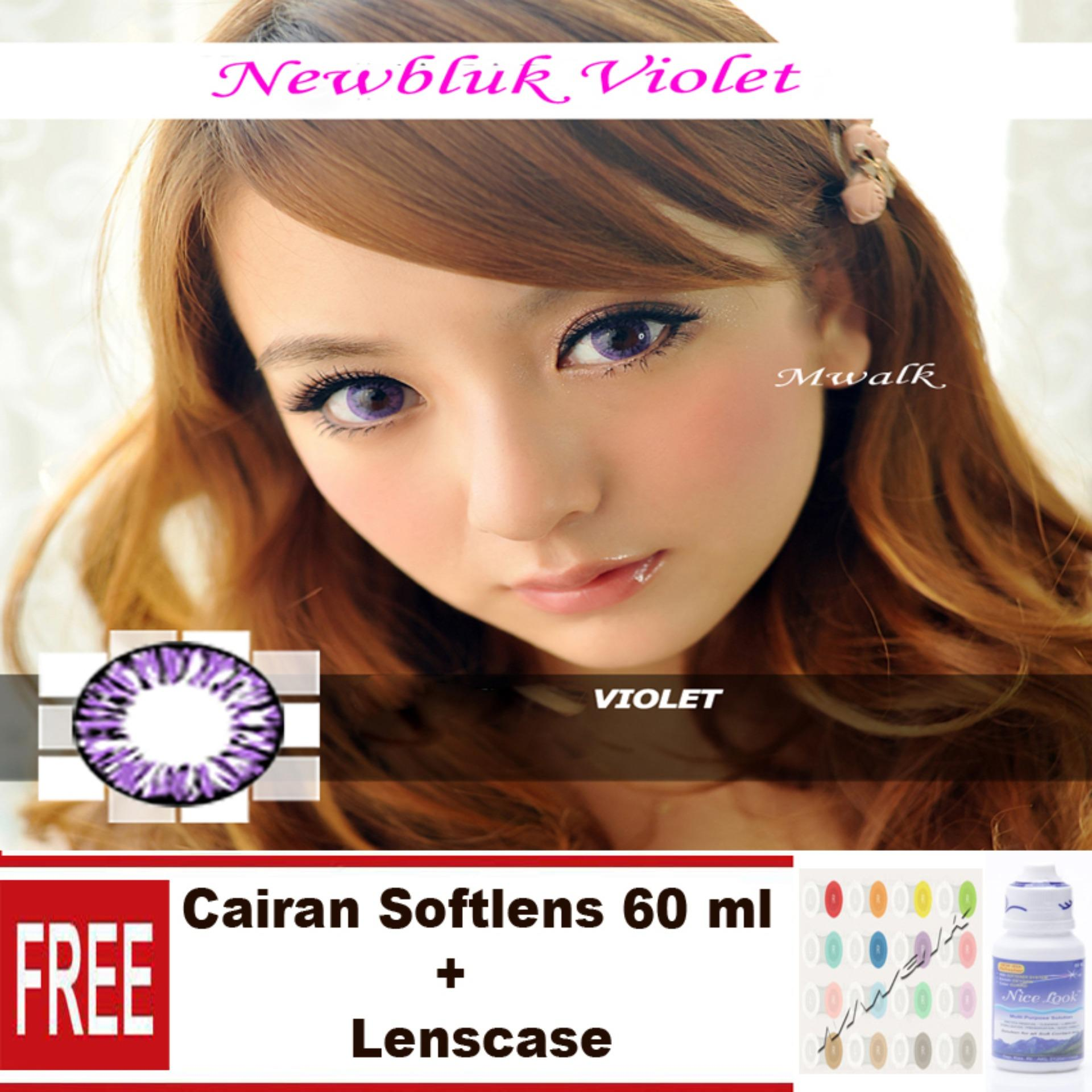 The Cheapest Price Softlens Newbluk Free Cairan Soflens 60 Ml Air Nice Look Lenscase