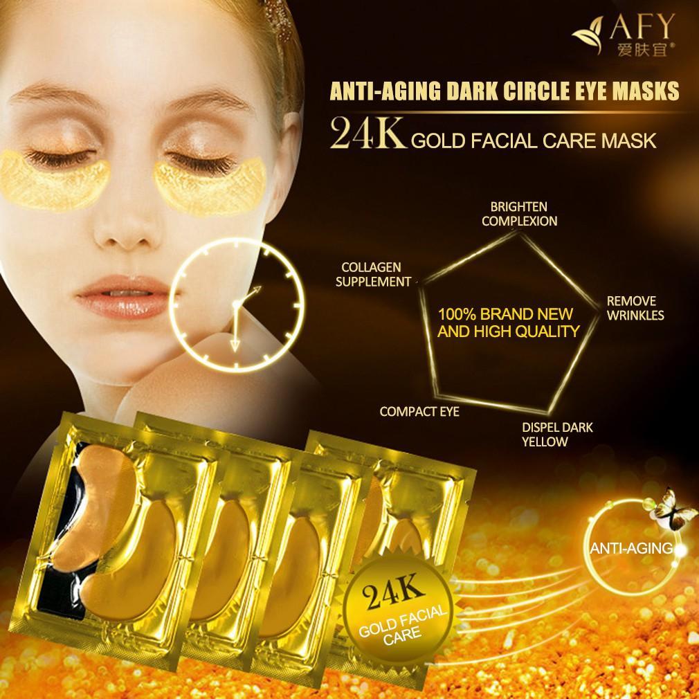 Info Harga Masker Emas 24k Toko Online Terpercaya Crystal Collagen Eyelid Patch Gold Mata Kolagen Anti Penuaan Lingkaran Hitam