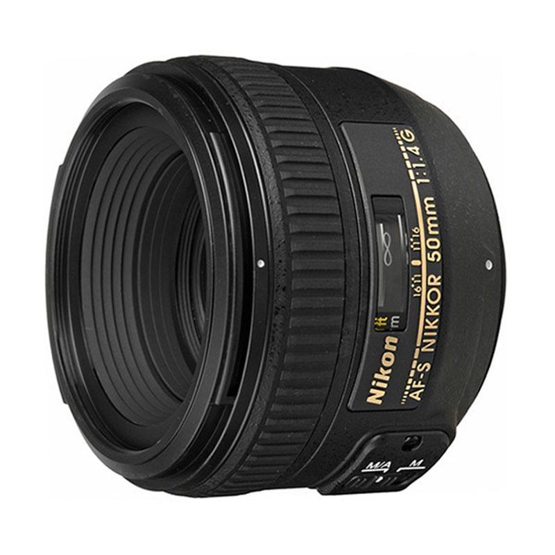 Nikon AF-S 50mm F/1.4G Lensa Kamera