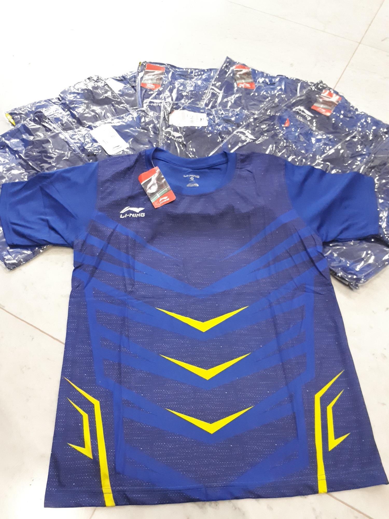 Fox- Baju Badminton Li-Ning/ Kaos Lining Badminton/ Pakaian olah raga/ Kaos Bulu Tangkis.