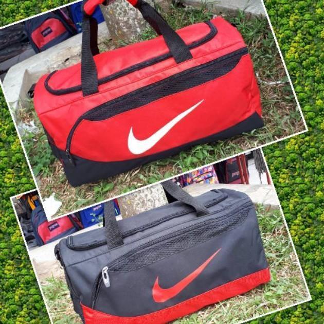 Travel Gym Bag Nike Adidas Tabung Tas Olahraga Basket Futsal Fitness Slempang Sport Senam Aerobik