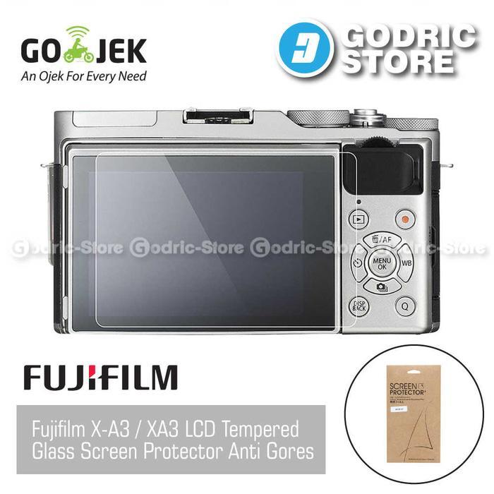 Fujifilm X-A3 / XA3 LCD Tempered Glass Screen Protector Anti Gores