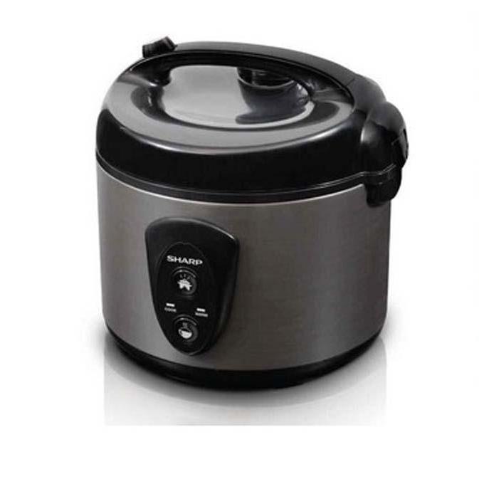 Rice Cooker 1.8L Silver Sharp KSN18MGSL