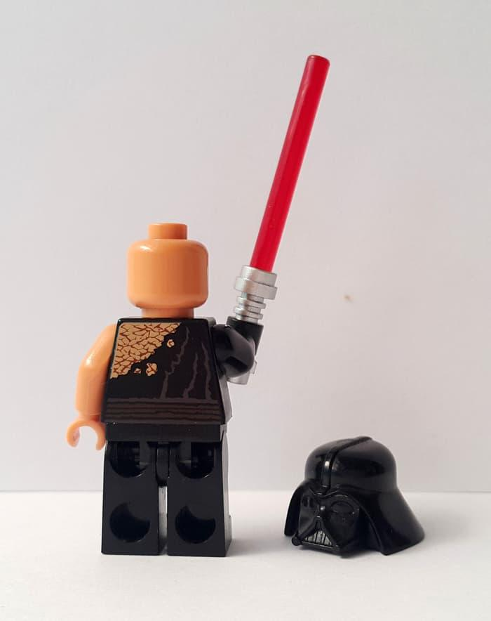 BEST SELLER!!! Lego Minifigure Anakin Skywalker Fallen Jedi Battle Damaged Star Wars - 029ASw