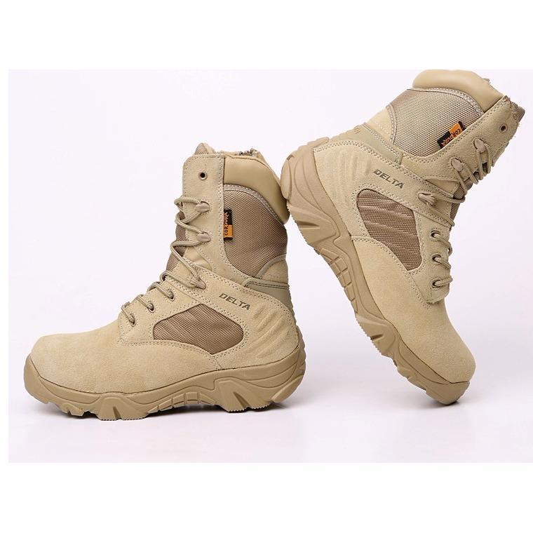 Delta Sepatu Boots 8 Inci - Gurun