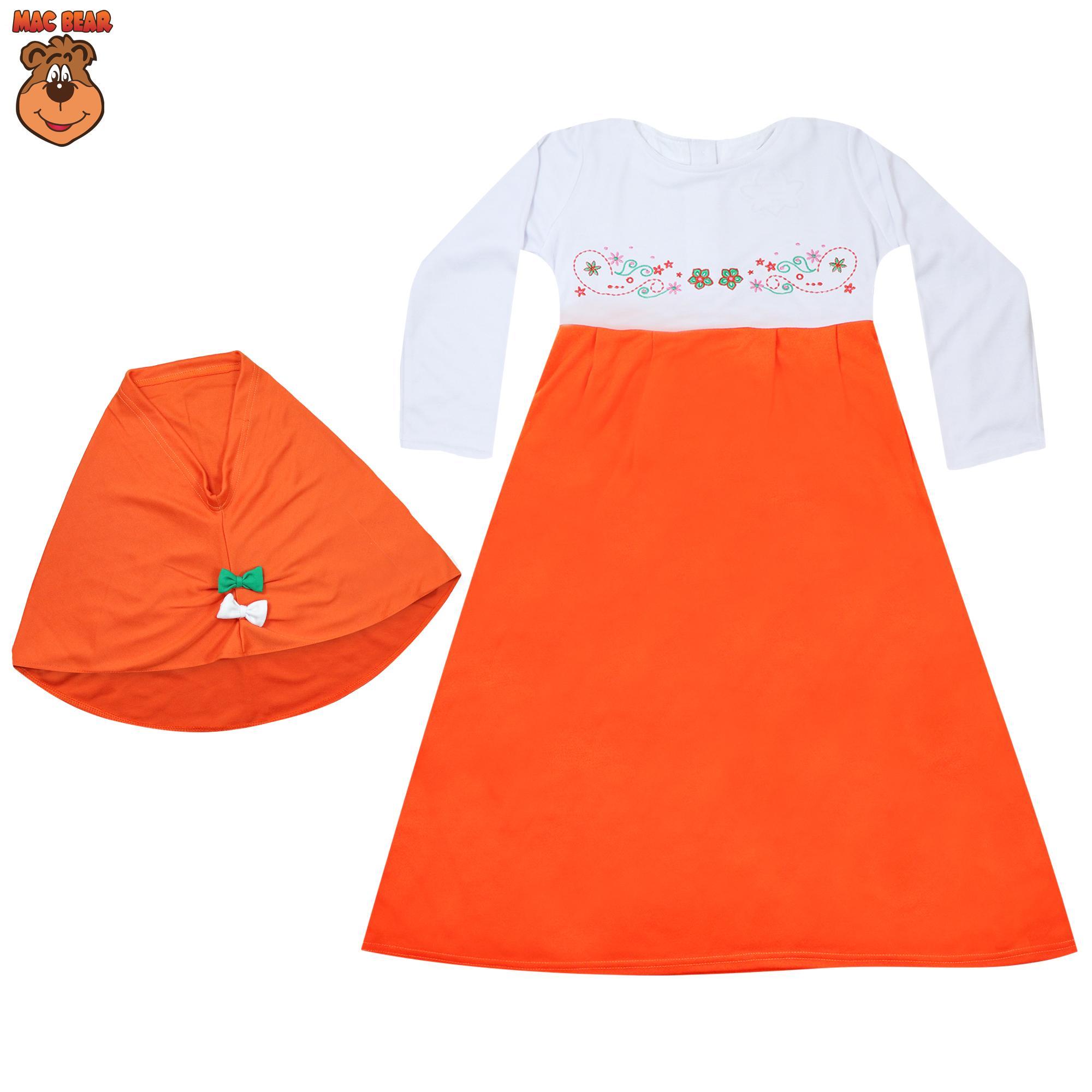 MacBee Kids Baju Anak Gamis Shakila Muslimah