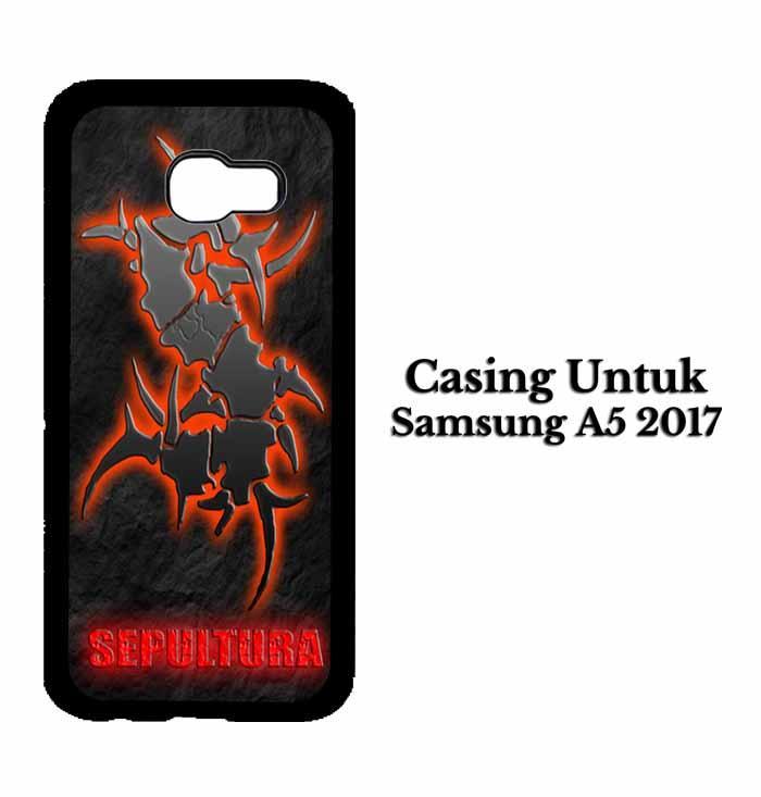 Casing SAMSUNG A5 2017 sepultura Hardcase Custom Case Se7enstores