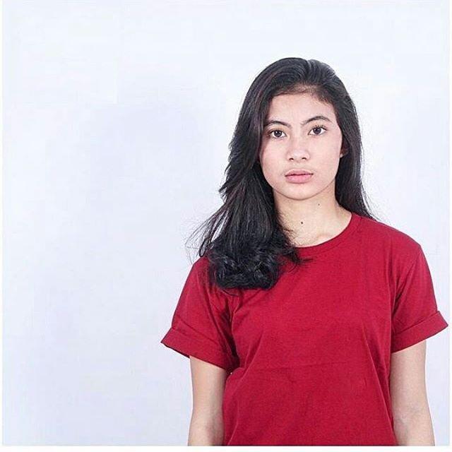 Baju Kaos Oblong Polos MAROON SOLID / Kaos Merah Marun Tangan / Lengan Pendek Pria Wanita