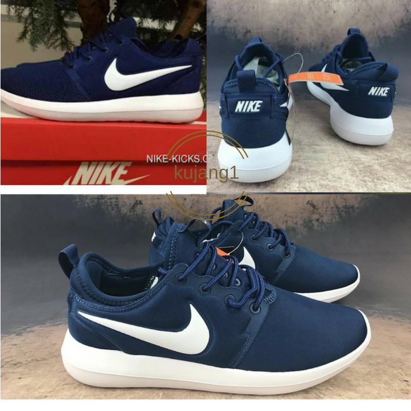 SEPATU NIKE ROSE RUN 2 SNEAKERS CASUAL 2018 BIRU