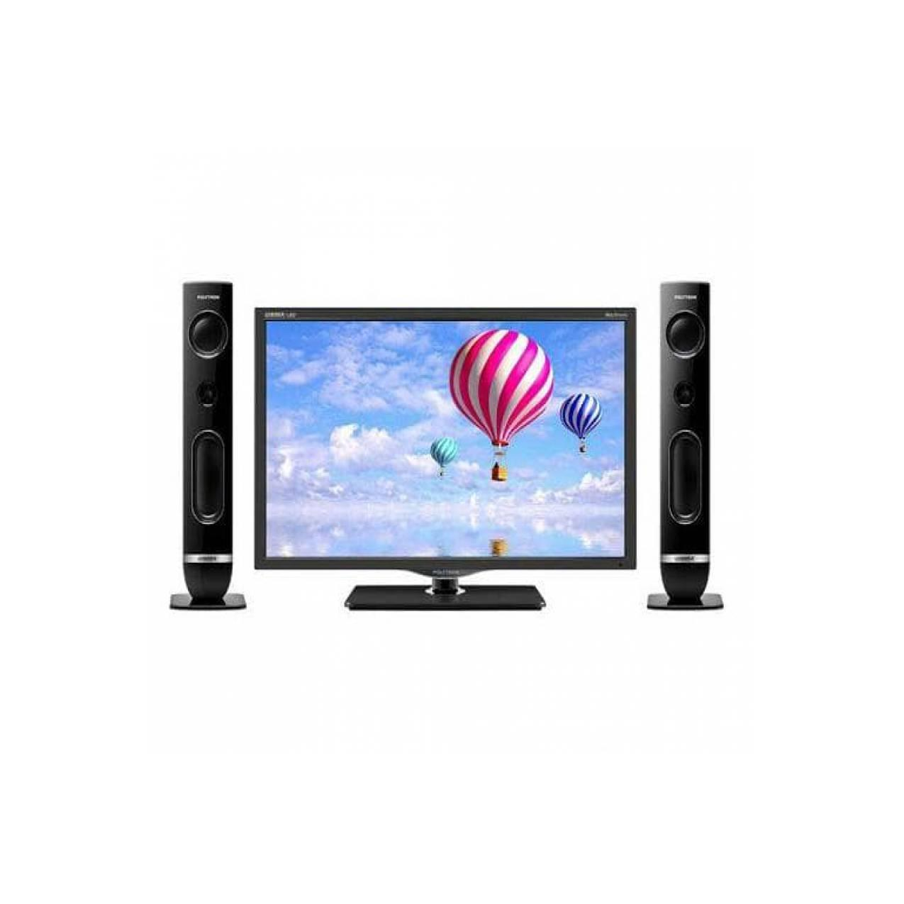 Polytron LED TV 24T810 24 inch gratis speaker