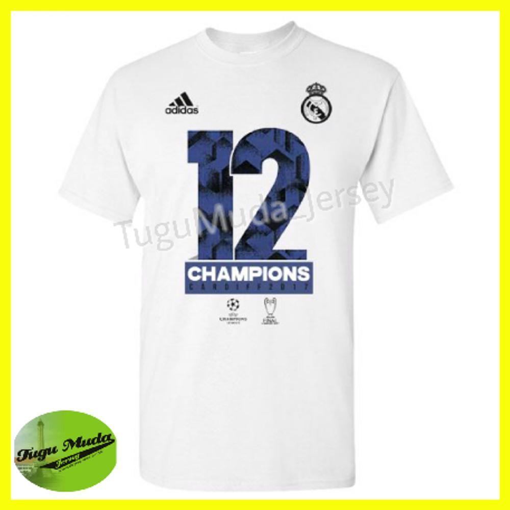 List Harga Baju Bola La Galaxy Termurah Oktober 2018 Cari Dan 02 Kaos Distro Real Madrid Duodecima Juara Liga Champion Champions Ucl 2017 Winners Tshirt Jersey