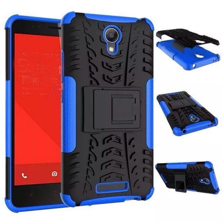 Casing TPU + PC Anti Knock Hard Armor Style Protector Case Cover For Xiaomi Redmi Note 2 Hardcase P