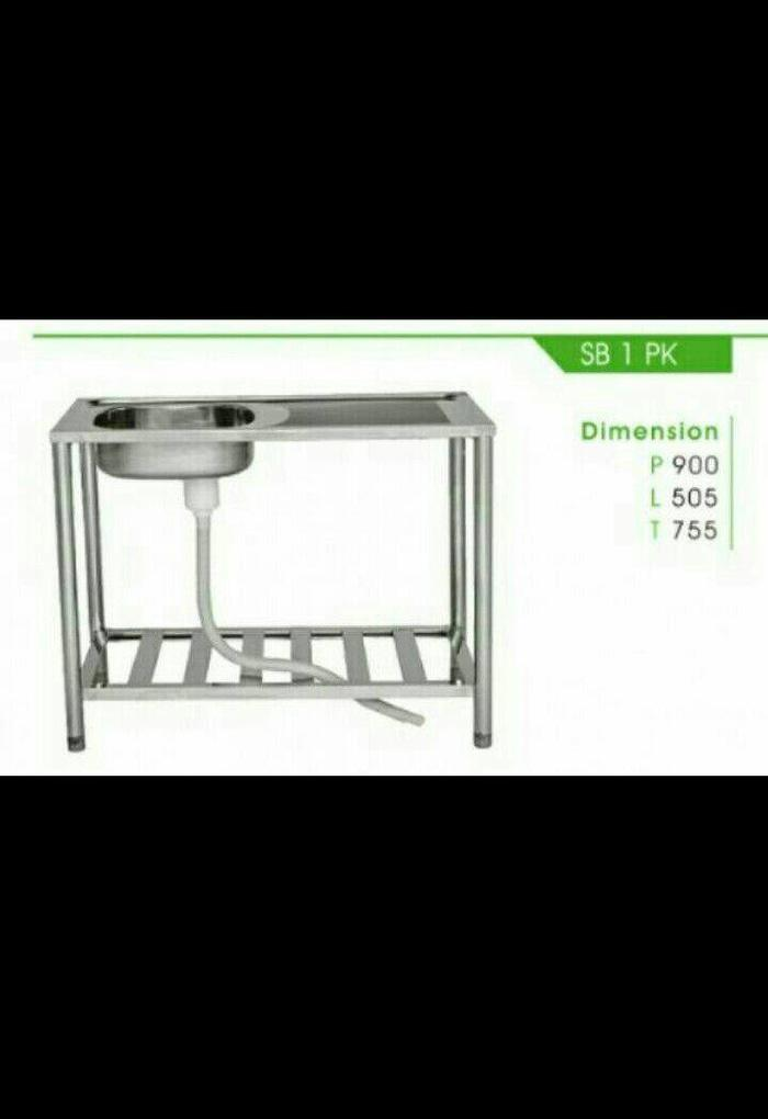 sink meja bak cuci piring meja/ kaki
