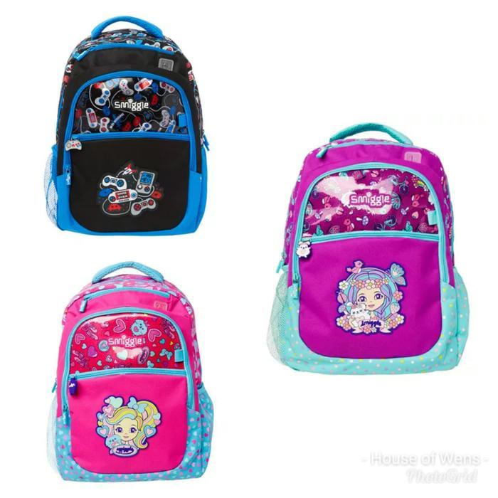 ... Smiggle Squad Backpack - Tas Anak Smiggle - 4 ...