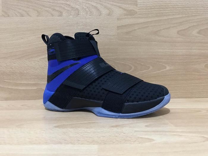 Sepatu Basket Nike Lebron Soldier X Black Blue