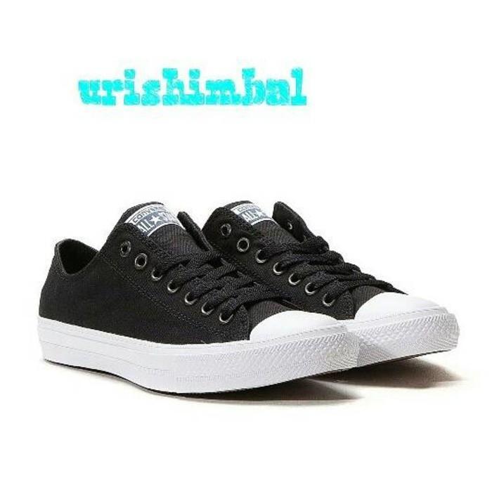 Promo Termurah Sepatu Converse CT   Converse CT Low Top  Black (Hitam) Murah Gratis Ongkir