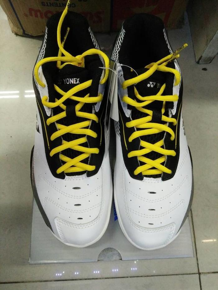 Sepatu Badminton Yonex SHB 65 EX Black/Yellow (Original) - rSbChr