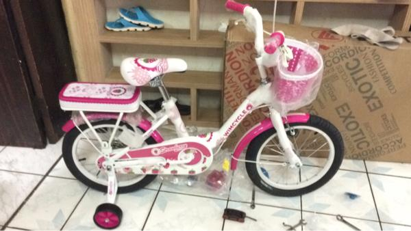 BEST SELLER!!! Sepeda anak 16 Wimcycle Mini strawberry - GyqBlM